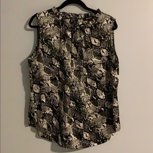 2 for $32- Nine West sleeveless top - size XL